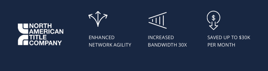 North American Title improves performance and efficiency of network services with EdgeConnect SD-WAN edge platform