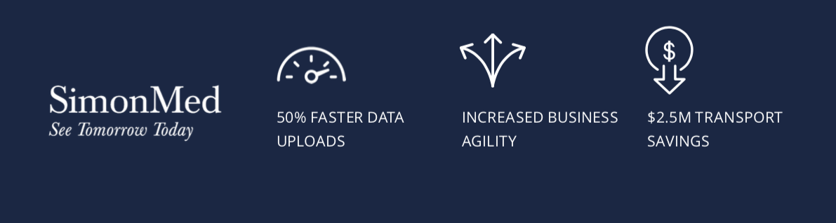 SimonMed speeds 3D image file transfers with business-driven SD-WAN built on Unity EdgeConnect, accelerated with Unity Boost WAN optimization