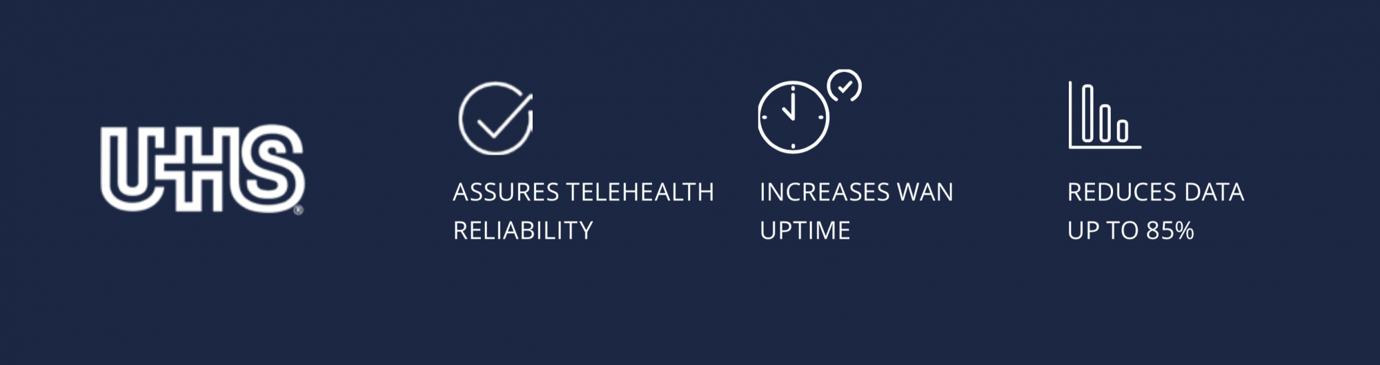 Universal Health Services transforms its WAN with Unity EdgeConnect SD-WAN edge platform, achieving new levels of network performance, reliability, and agility