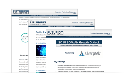 IDG eGuide SD-WAN Has Arrived