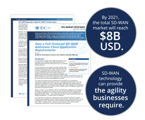 IDC Market Spotlight Report for SD-WAN