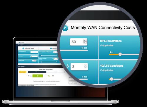 SD-WAN Interactive                     ROI Calculator