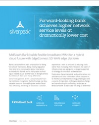 MidSouth Bank and Silver Peak Case Study