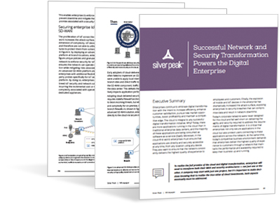 Successful WAN and Security Transformation Powers the Digital Enterprise