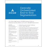 Centrally Orchestrated End-to-End Segmentation