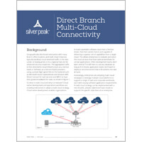 Direct Branch Multi-Cloud Connectivity