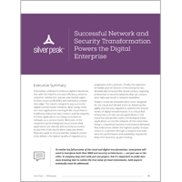 Successful Network and Security Transformation Powers the Digital Enterprise