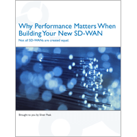 Why Performance Matters When Building an SD-WAN