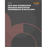 White Paper: HOW WAN OPTIMIZATION ENHANCES APPLICATION PERFORMANCE IN AN SD-WAN