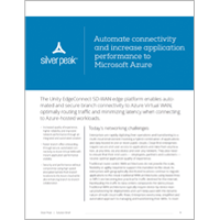 Automate connectivity and increase application performance to Microsoft Azure