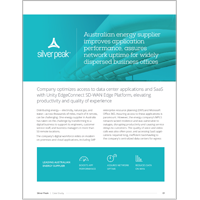 Australian Energy Supplier Improves Application Performance, Assures Network Uptime For Widely Dispersed Business Offices